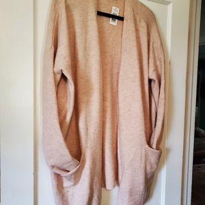 Pink XL Buffalo David Bitton Cozy Sweater Cardigan